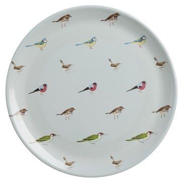 'Garden Birds' Melamine Dinner Plate