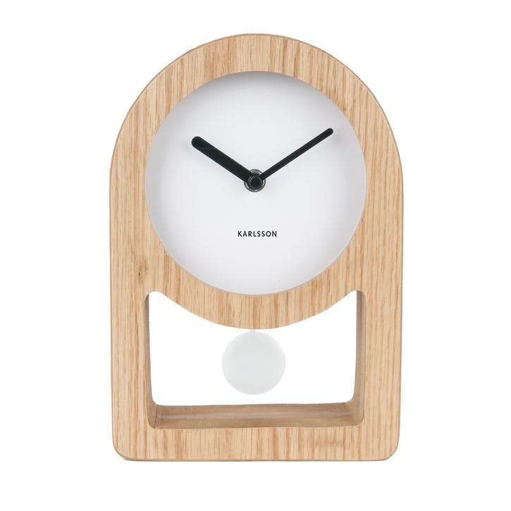 Lena Pendulum Table Clock