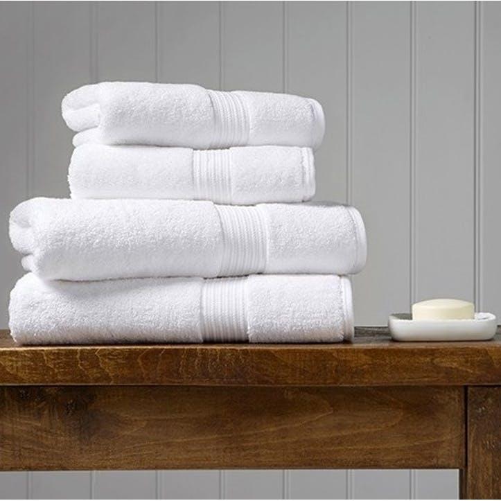 Supreme Supima Hygro White Bath Towel