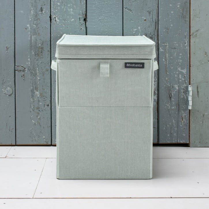 Linn Stackable Laundry Box, 35L, Green