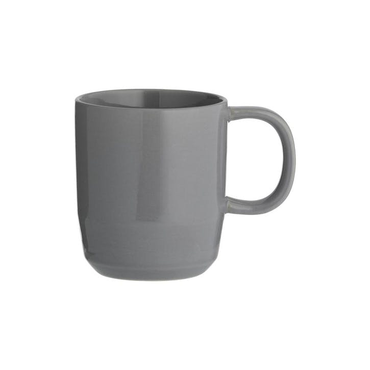 Café Concept Tea Mug, Dark Grey