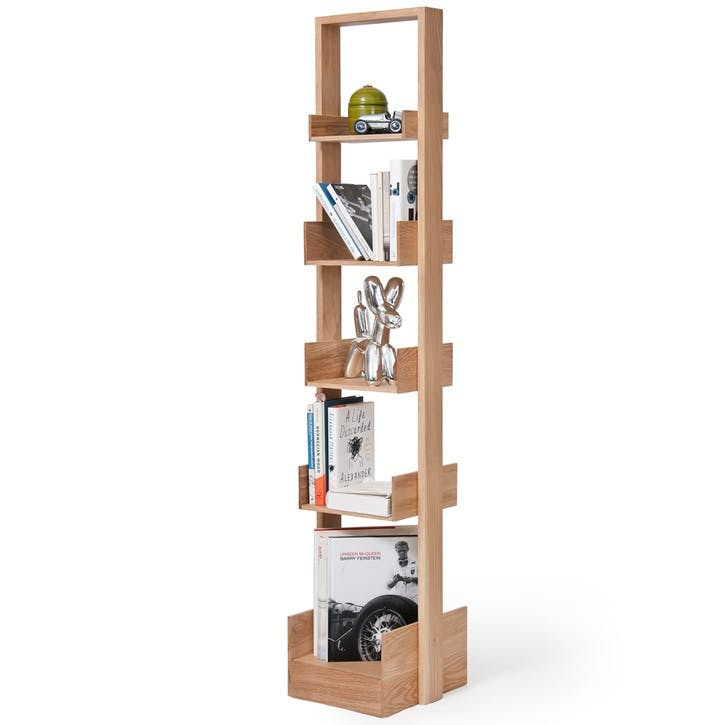 Bookie Bookcase, Oak