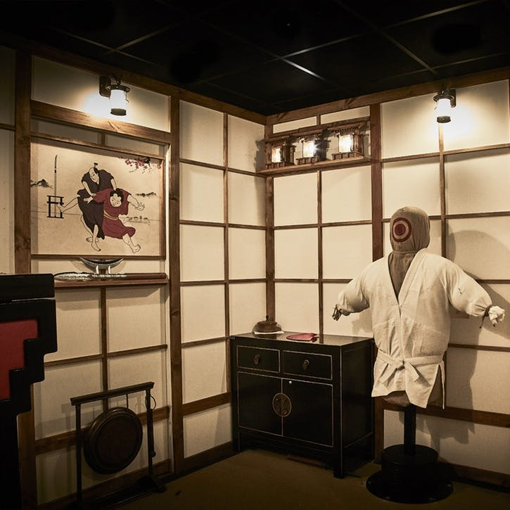 The Fourth Samurai Escape Game for Two with Escape Hunt