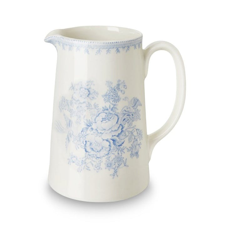 Asiatic Pheasants Tankard Jug, Large, Blue