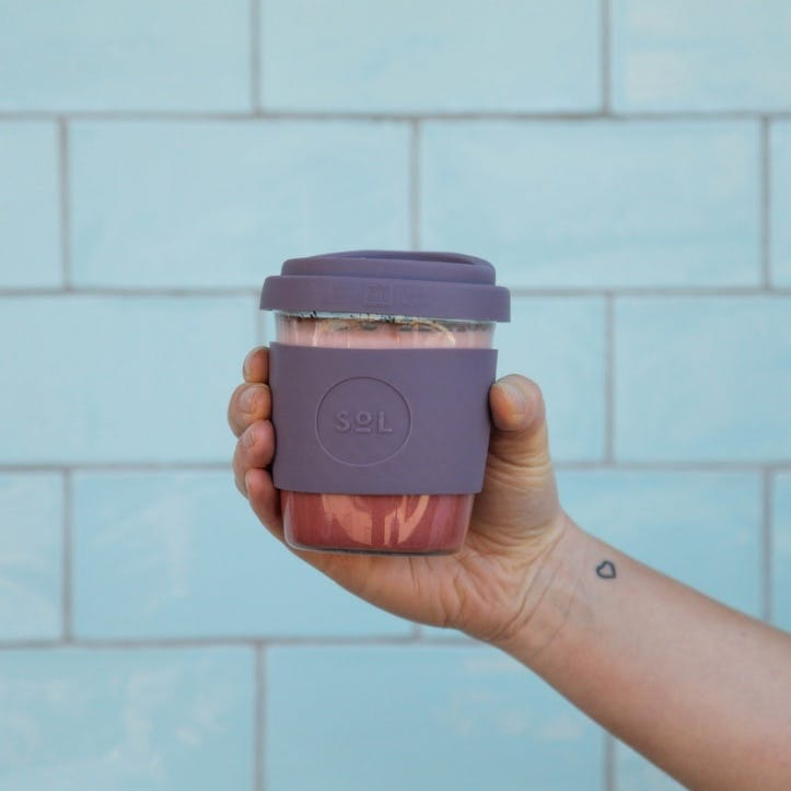 Coffee Cup, 8oz, Mystic Mauve