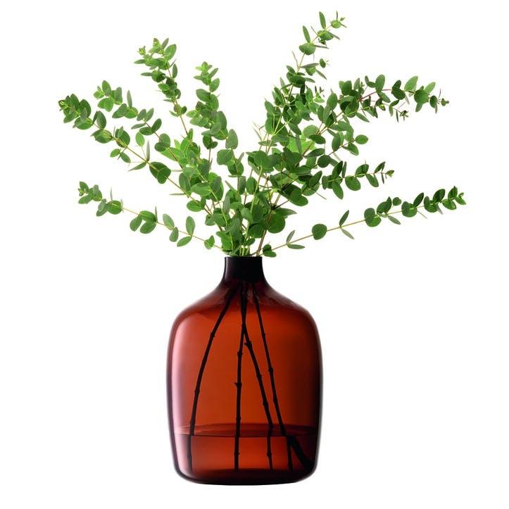 Vessel, Vase, H27cm, Mocha