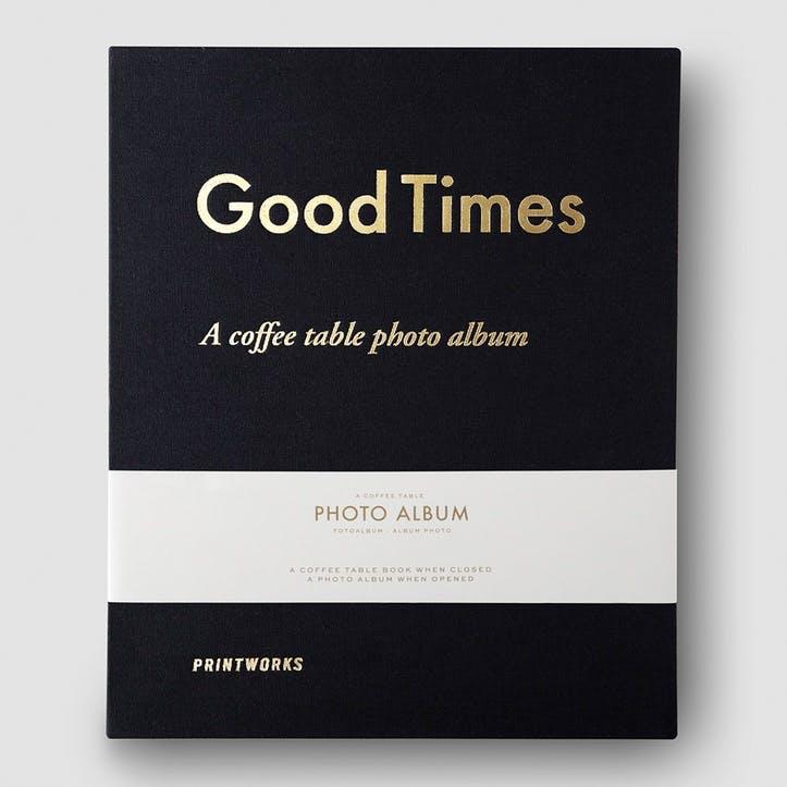 Good Times, Photo Album, Black