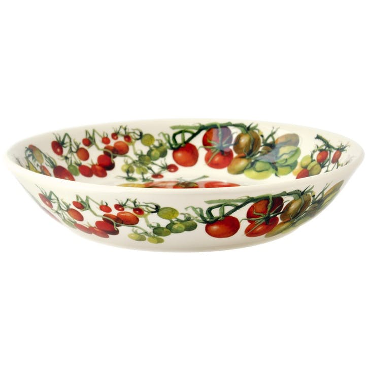 Vegetable Garden Tomatoes Pasta Bowl, 23cm