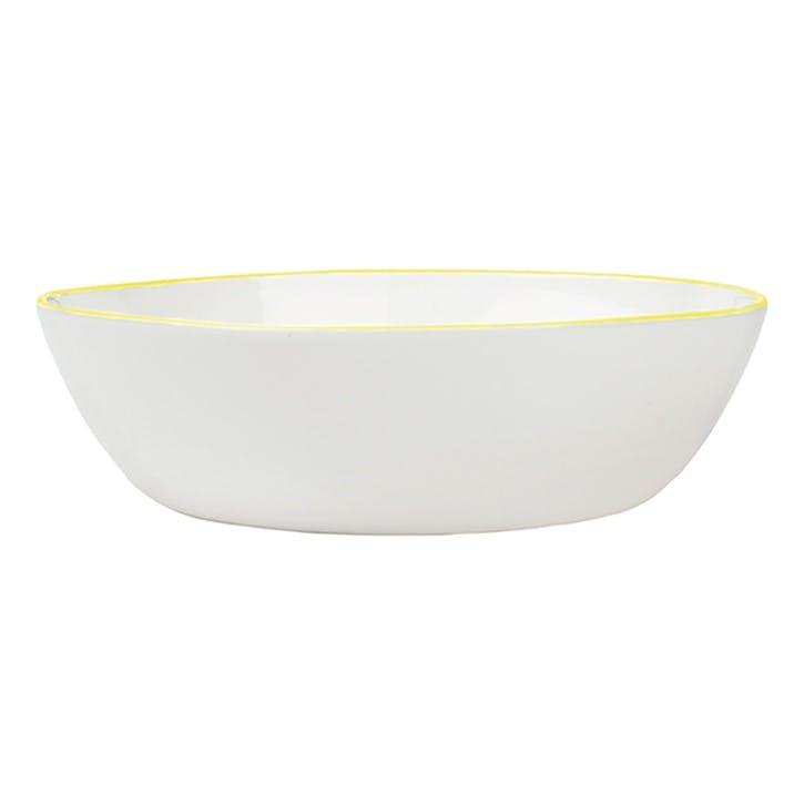 Abbesses Pasta Bowl, Yellow