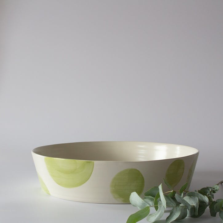 Multi Spots Large Tapered Bowl