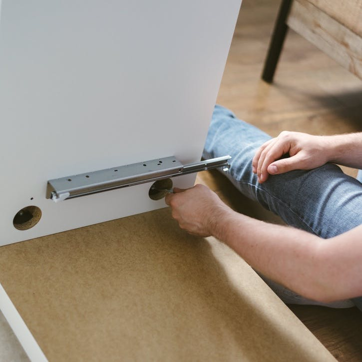 I promise to help you build flat pack furniture