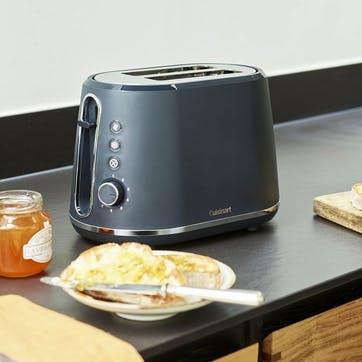 2 Slice Toaster, Slate