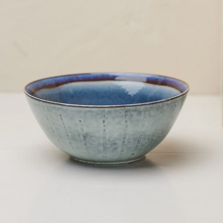 Dakara Serving Bowl; Navy