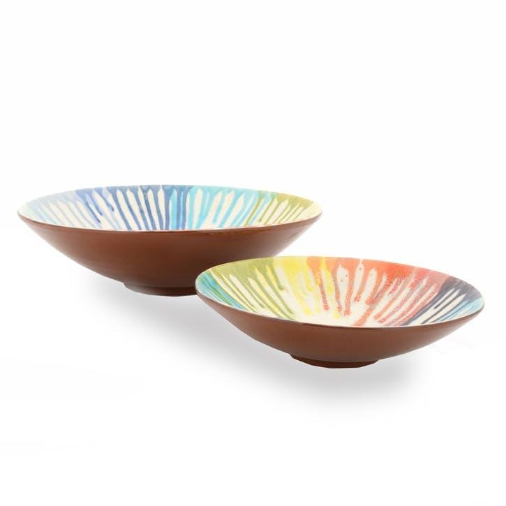Iris Fruit Bowl, Medium