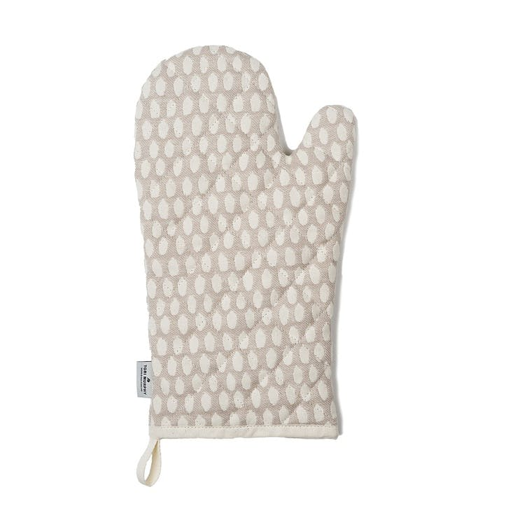 Elca Oven Glove, Linen On Fawn