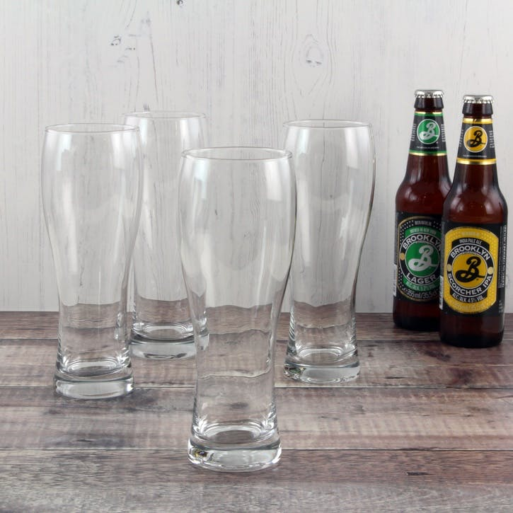 Classic Beer Glass, Set of 4