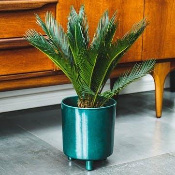 Pisa, Planter, H20 X W24 X D24cm, Emerald