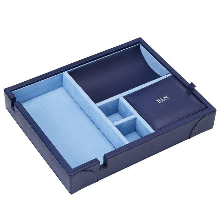 Luxury Valet Tray, Sapphire