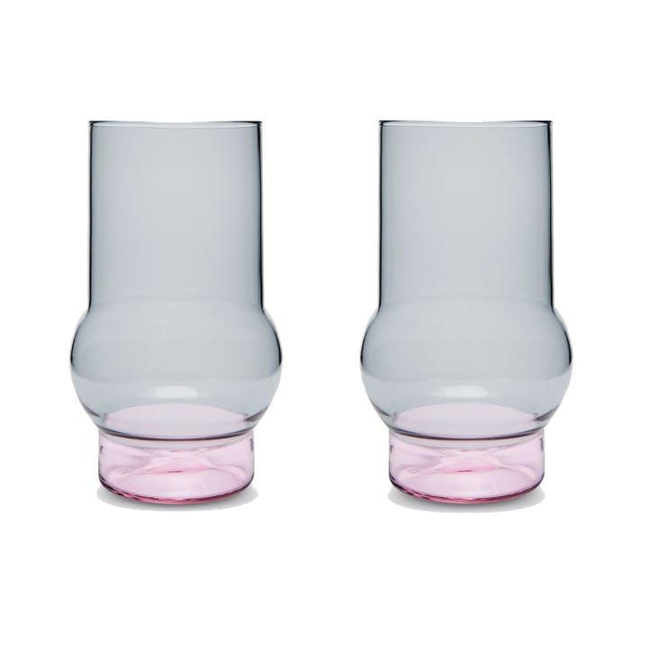 Bump Tall Glasses, Set of 2