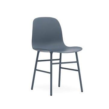 Form Dining Chair D52 x H80cm Blue
