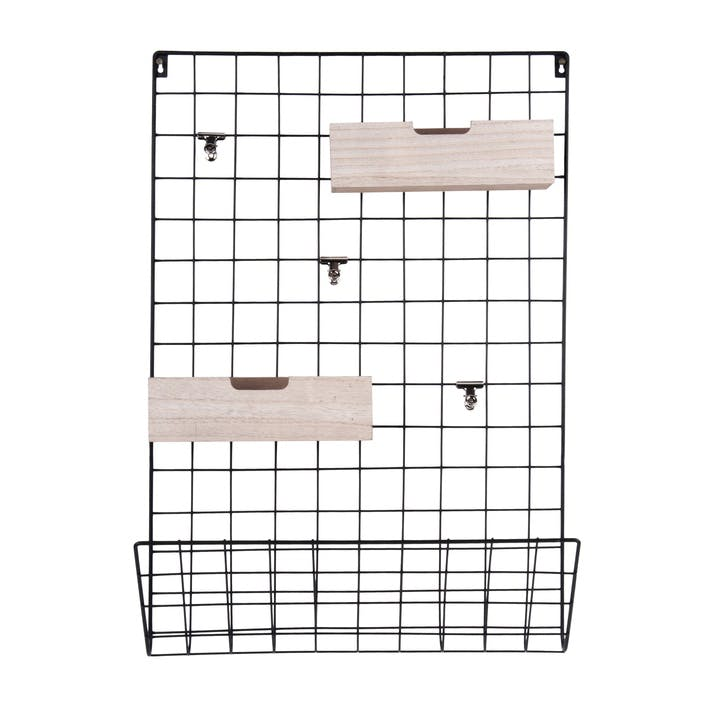 Wall Mounted Memo Rack
