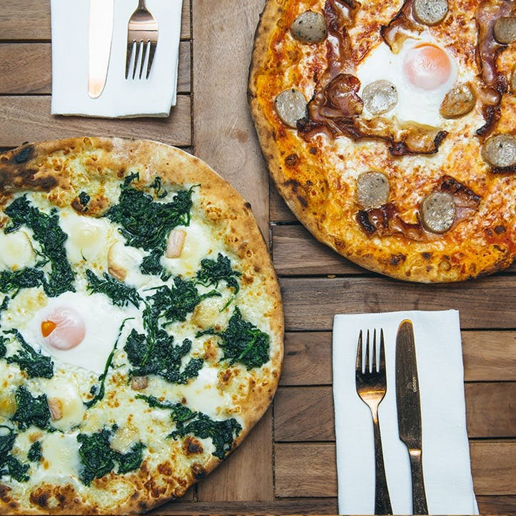 Weekend Italian Brunch with Unlimited Prosecco for Two at BungaTINI, Covent Garden