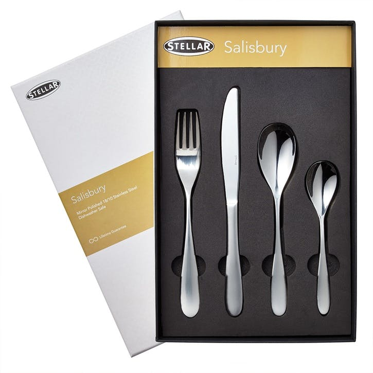 Salisbury Cutlery Set, 24 Piece