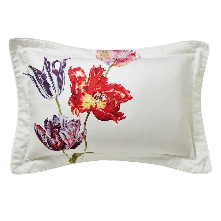 Tulipomania Oxford Pillowcase, Amethyst