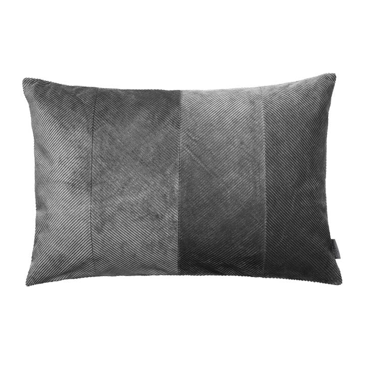 Corduroy Herringbone Cushion, Steel