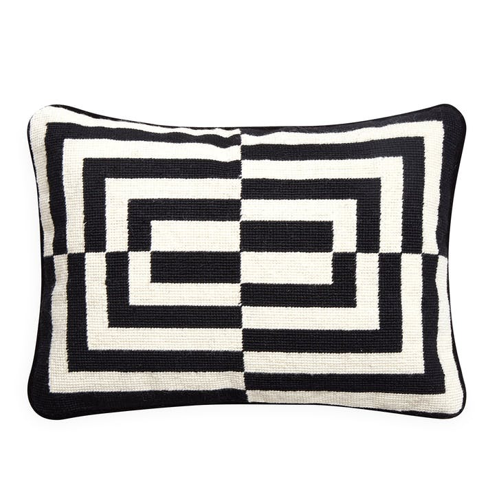 Op Art Rectangle Pillow