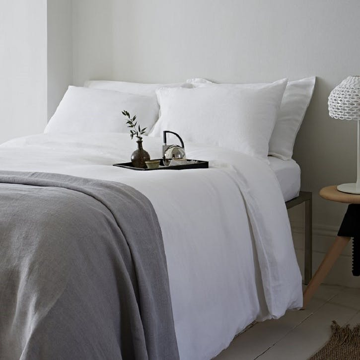 Classic Duvet Cover, Double, White