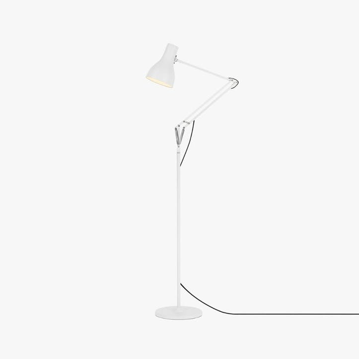 Type 75 Floor Lamp, Alpine White