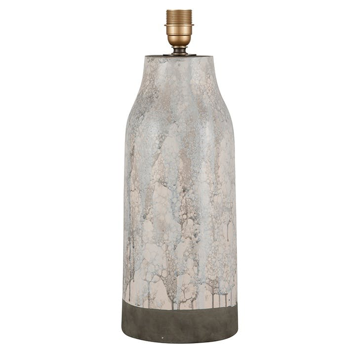 Milano Marble Effect Stoneware Table Lamp Base