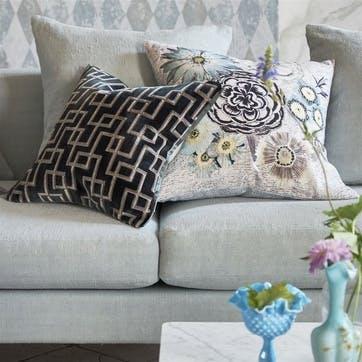 Jeanneret Ocean Velvet Cushion