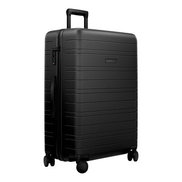 H7, Large Check-In Trolley Suitcase, W52 X H77 X D28cm, Black