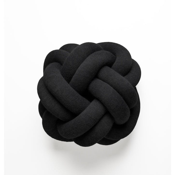 Knot Cushion, Anthracite