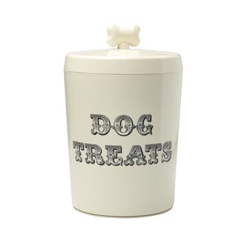 House Of Paws Country Kitchen Dog Treat Jar, Cream