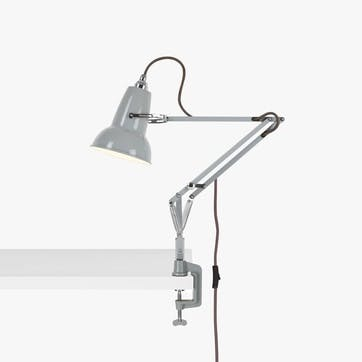 Original 1227 Mini Lamp with Desk Clamp, Dove Grey