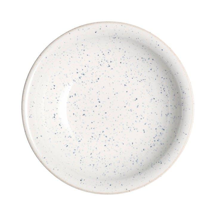 Studio Blue Chalk Medium Shallow Bowl