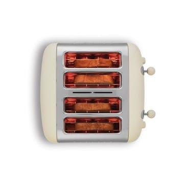 Lite Toaster, 4 Slot;  Cream