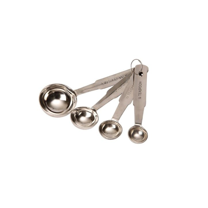 Stainless Steel Measuring Spoons, Set of 4