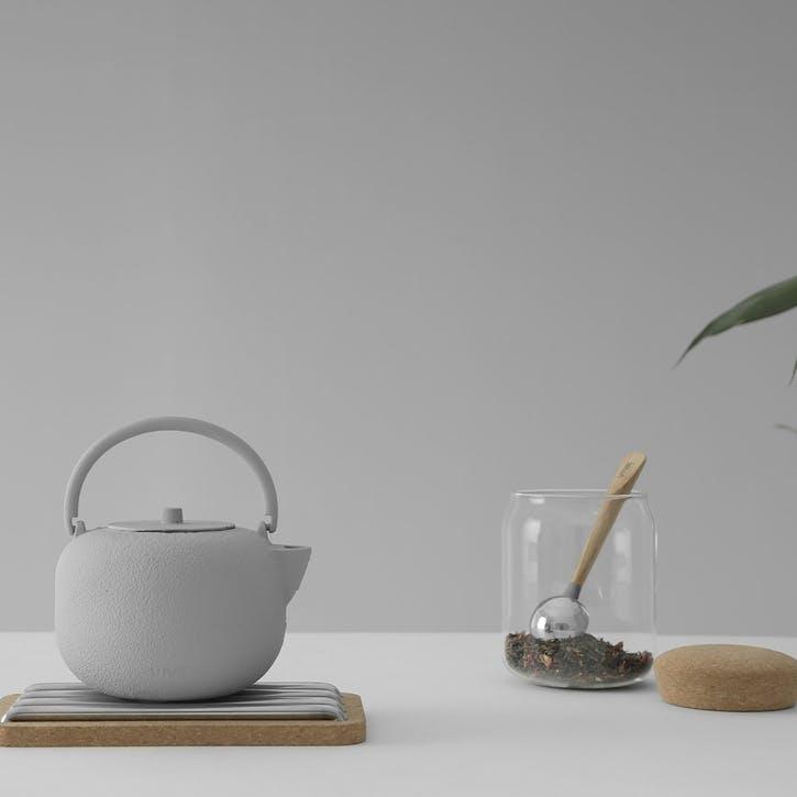Saga Teapot, Grey