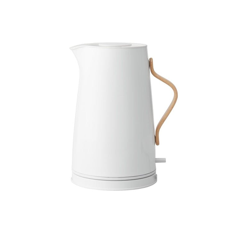 Emma Electric Kettle, Chalk White