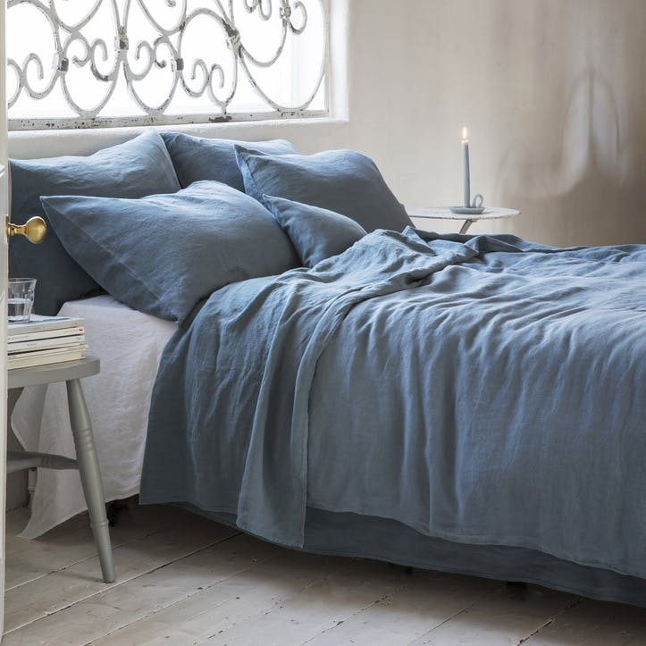 Duvet Cover, Superking, Parisian Blue