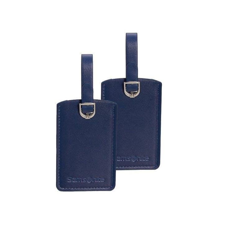 Luggage Tag, Set of 2, Midnight Blue
