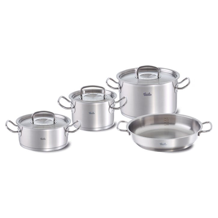 Original Pro Collection 4 Piece Set With Stainless Steel Lid