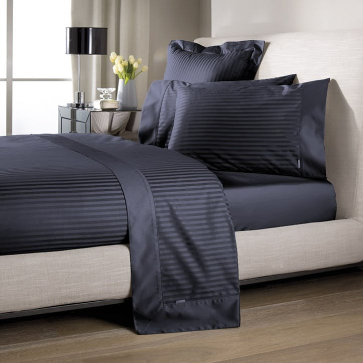 Millenia King Tailored Quilt Cover, Midnight