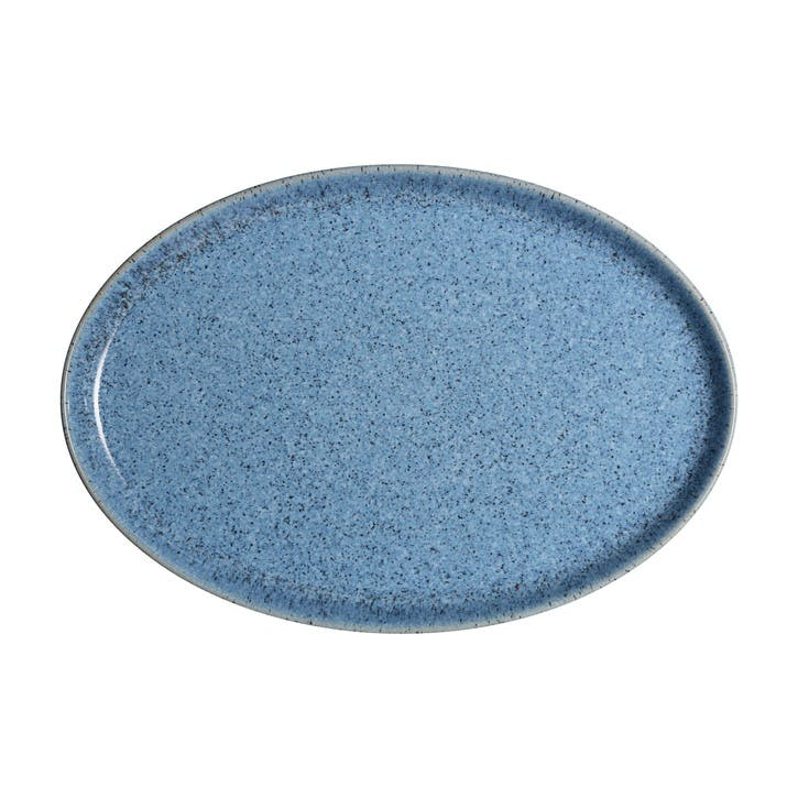 Studio Blue Flint Oval Platter