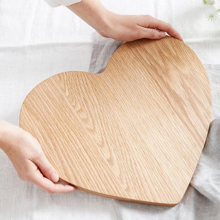 Heart Oak Board