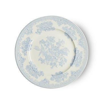 Asiatic Pheasants Plate, 22cm, Blue